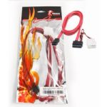 Wicked Wired 15Pin SATA Power & 0.8m Straight Cable
