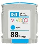 HP 88 Large Cyan Ink Cartridge 1.2K pages (C9391A)