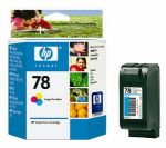 HP 78 Large Tri-Colour Inkjet Cartridge (C6578AA)