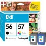 HP 56/57 Inkjet Cartridge Combo Pack (CC629AA)