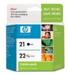HP 21/22 Inkjet Cartridge Combo Pack (CC630AA)