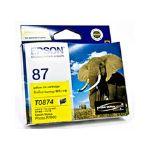 Epson T0874 UltraChrome Hi-Gloss2 Yellow Ink (T087490)