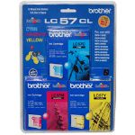 Brother LC57CL 3 Ink Cartridges (LC57C3PK)