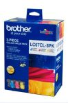 Brother LC-67 Colour Value Pack 325 pages (LC-67CL3PK)
