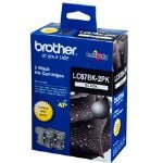 Brother LC-67BK Twin Pack Black Ink Cartridge 450 pages
