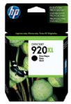 HP 920XL Black Officejet Ink Cartridge, 1200 pages (CD975AA)