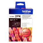 Brother LC73 Black Ink Cartridge Twin Pack for MFC