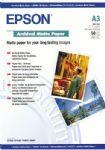 Epson Archival Matte Paper A3 50 Sheets (S041344)