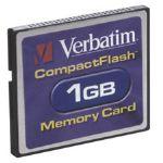 Verbatim 1GB CompactFlash Card (47010)