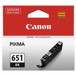 Canon CLI651 Black Ink Cart 1795 A4 Pages (ISO/IEC 24711) Black