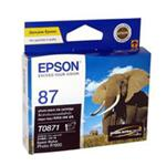 Epson 87 - UltraChrome Hi-Gloss2 - Photo Black Ink Cartridge 5,630 pages