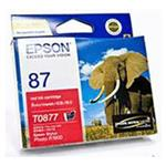 Epson T0877 Red Ink 915 pages Red