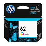 HP #62 Tri Colour Ink Cartridge C2P06AA 165 pages