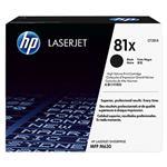 HP #81X Black Toner CF281X 25,000 pages