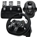 Bundle Deal: Logitech G920 Racing Wheel + Driving Force Shifter - Xbox One, PC