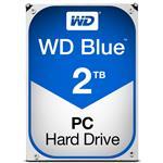 """Recertified  - WD WD20EZRZ 2TB Blue 3.5"""" 5400RPM SATA3 Hard Drive"""