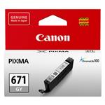 Canon CLI-671GY Grey Ink Cartridge Up To 780 pages