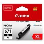 Canon CLI-671XLBK High Capacity Black Ink Cartridge