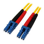 StarTech 1m Fiber Optic Cable - Single-Mode Duplex 9/125 LSZH - LC/LC