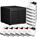 Synology DS2415+ 12 Bay NAS + 12x Seagate ST4000VN008 4TB IronWolf NAS HDD