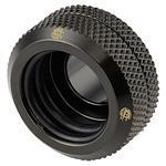 Bitspower Hard Tube 16mm Enhanced Fitting - Matte Black