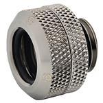 Bitspower Hard Tube 12mm Enhanced Fitting - Black Metal