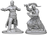 Pathfinder - Deep Cuts Unpainted Miniatures: Human Male Monk