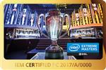 IEM Certified PC 2017 License Sticker (Intel Extreme Masters / ESL)