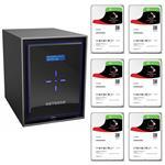 Netgear RN42600-100AJS 6 Bay NAS + 6x Seagate ST1000VN002 1TB IronWolf NAS HDD