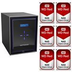 Netgear RN42600-100AJS 6 Bay NAS + 6x WD WD10EFRX 1TB Red NAS HDD