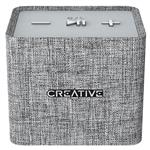 Creative Nuno Micro Designer Cloth Portable Bluetooth Speaker - Grey