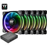 Open Box - Thermaltake Riing Plus 14 TT Premium Edition 140mm LED RGB Fan - 5x
