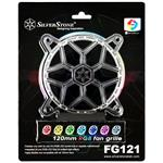 SilverStone FG121 120mm RGB LED Fan Grille