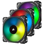 Corsair ML120 PRO RGB LED 120mm Magnetic Levitation Fan - 3 Pack with Controller