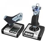 Logitech X52 H.O.T.A.S. Throttle and Stick Simulation Controller