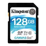 Kingston 128GB Canvas Go SDXC UHS-I U3 Class 10 Memory Card - 90MB/s