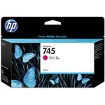 HP745 130ML Ink Cartridge - Magenta (F9J95A)
