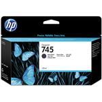 HP745 130ML Ink Cartridge - Matte Black (F9J99A)