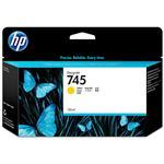 HP745 130ML Ink Cartridge - Yellow (F9J96A)