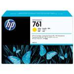 HP761 400ML DesignJet Ink Cartridge - Yellow (CM992A)