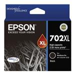 Epson 702XL High Capacity DURABrite Ultra Black Ink Cartridge
