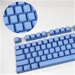Tai-Hao MX Switch Type Doubleshot ABS 1-Tone 104-Key Keycap Set - Baby Blue