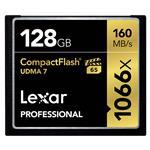 Lexar Professional 1066x 128GB UDMA 7 CF Compact Flash Card - 160MB/s