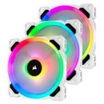 Corsair LL120 SE Dual Light Loop RGB LED 120mm PWM Fan - 3 Pack with Controller