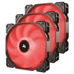 Corsair AF Series AF120 LED 120mm Fan - Red - 3 Pack