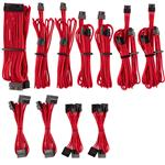 Corsair Premium Individually Sleeved PSU Cables Pro Kit - Red