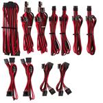 Corsair Premium Individually Sleeved PSU Cables Pro Kit - Red/Black