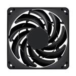 SilverStone FN124 120mm Slim Case Fan - Black