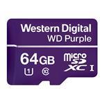 WD Purple 64GB microSDXC Class 10 U1 Memory Card