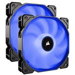 Corsair Air Series AF140 LED Low Noise 140mm Fan - Blue -  2 Pack